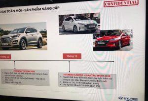 Hyundai Tucson và Elantra 2019 sắp ra mắt thị rường Nhật Nam